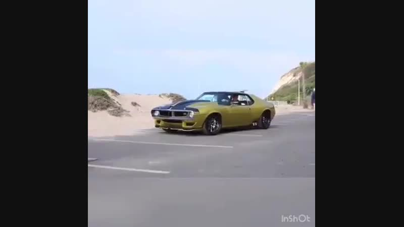 1972 AMC Javelin AMX is a 1,036-hp of Hellcat power.