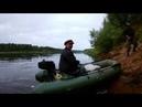 Рыбалка на Каме с лодки спинингом