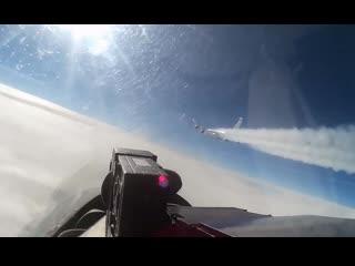 Истребитель Су-27 перехватил самолёт-разведчик США RC-135 над нейтральными водами Балтийского моря