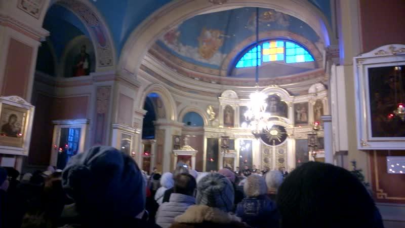 Концерт духовной музыки в Спасо-Преображенском соборе. Выборг.