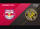 Playoffs 2018: New York Red Bulls vs Columbus Crew SC | November 11, 2018