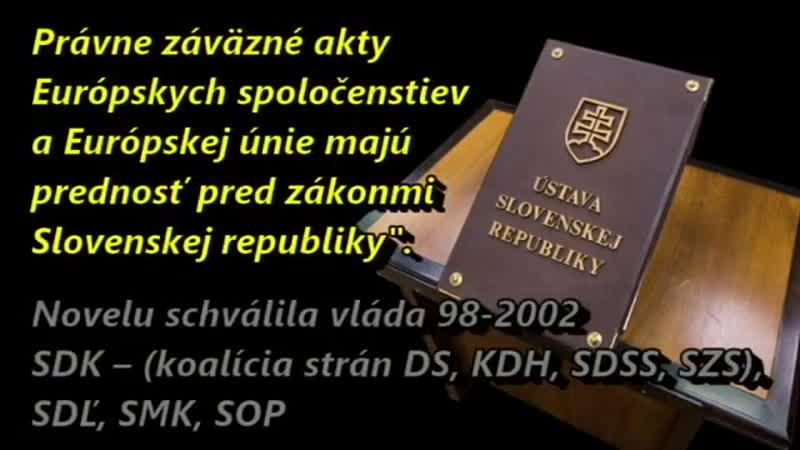 Dal som im svoj hlas za lepšie Slovensko nech rozmýšľajú