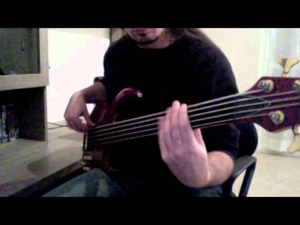 Cynic The Lion's Roar bass cover