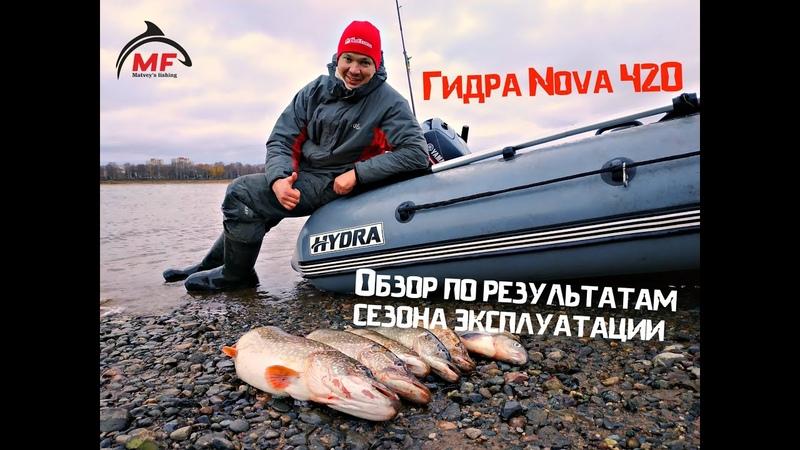 Гидра Nova 420. Отзыв по итогам сезона эксплуатации.