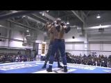 Tanga Loa, Yujiro Takahashi vs. Davey Boy Smith Jr., Lance Archer (NJPW - New Japan Cup 2018 - Day 5)