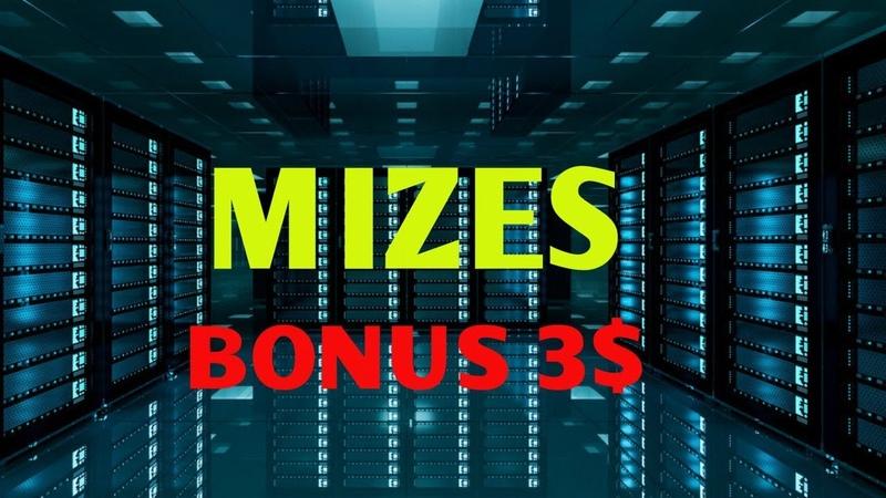 Новая Топ Платформа для майнинга 🔥 MIZES🔥 бонус 3$ Где заработать в интернете на майнинге