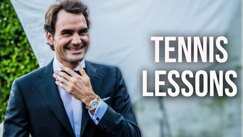 3 Tennis Lessons Roger Federer Gave in 2017....