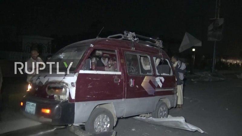 Yemen: Airstrike hits gas station in Sanaa, killing four