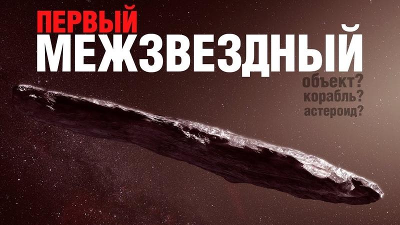 Первый межзвёздный. 'Оумуамуа