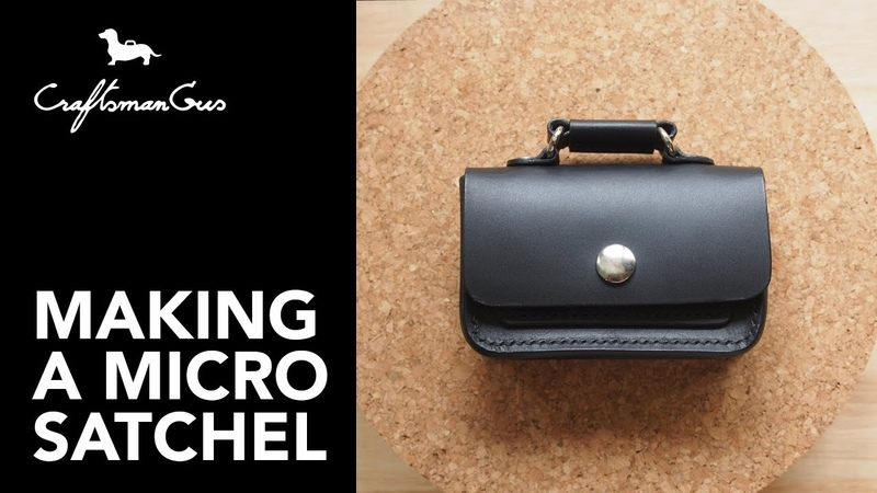 Making Micro Satchel LeatherAddict EP36
