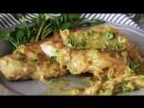 Свинина с горчично уксусном соусом pork loins with mustard vinegar sauce