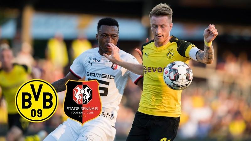 Reus als Kapitän Delaneys Debüt | BVB - Stade Rennes 1:1 | Alle Tore und Highlights