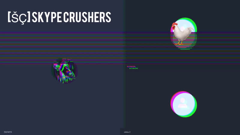 Skype Crushers - Диалог с петухом.