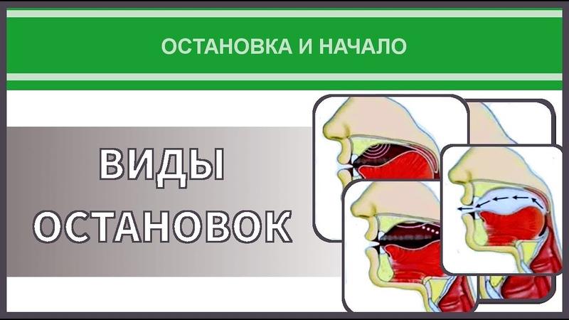 Айман Сувейд. 4. Остановка и начало: ВИДЫ ОСТАНОВОК (с субтитрами на русском)