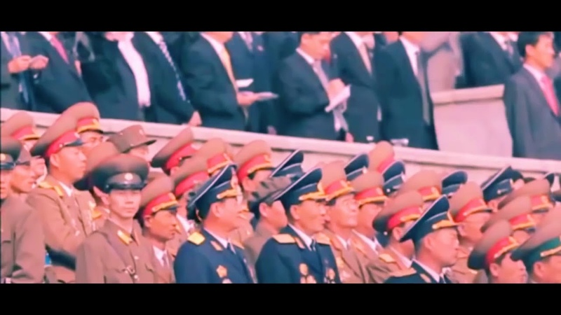 KOREAWAVE《조선 민족의 태양 김정은장군 만세!》 D.P.R