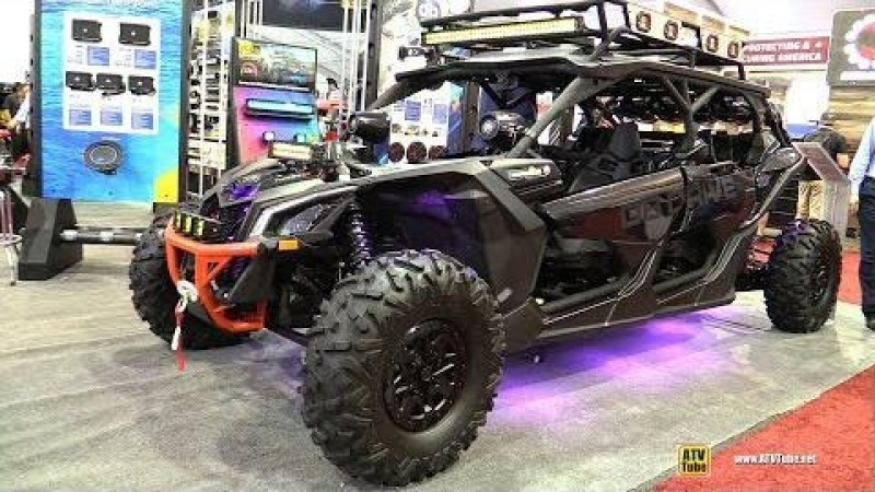 Can Am Maverick Max X3 Turbo X RS 2017 with PB Drive Amphibious Car Audio - Walkaround - 2017 SEMA