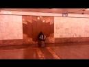 26 12 2017 Подземный переход к станции Парк Победы
