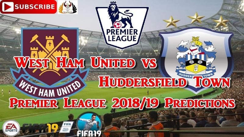 West Ham United vs Huddersfield Town | Premier League 2018-19 | Predictions FIFA 19