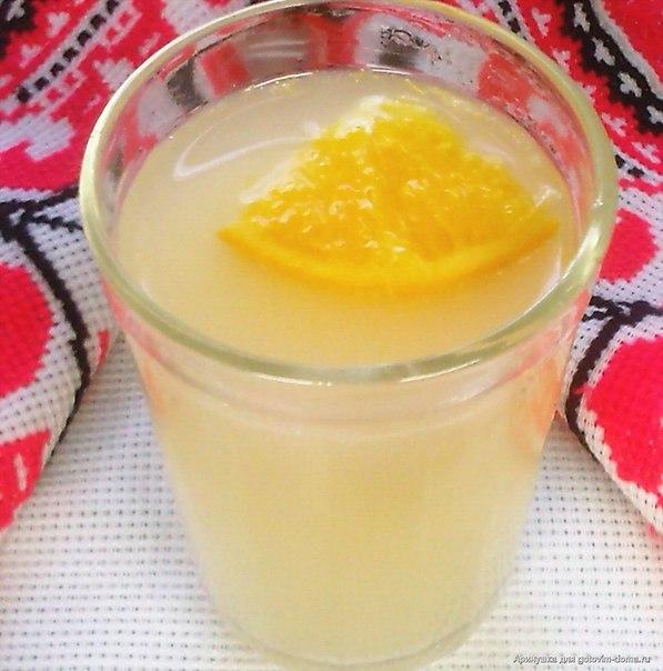 Рецепты апельсинового кваса
