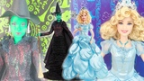 ОБЗОР кукол Elphaba &amp Glinda Barbie dolls from the Musical WICKED