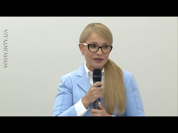 Лідер Батьківщини відвідала головний офіс Центру захисту киян