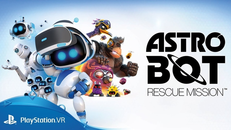 ASTRO BOT Rescue Mission | Launch Trailer | PS VR