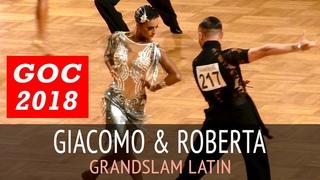 Giacomo Lazzarini & Roberta Benedetti | Пасодобль | GOC2018 GrandSlam LATIN - 3тур