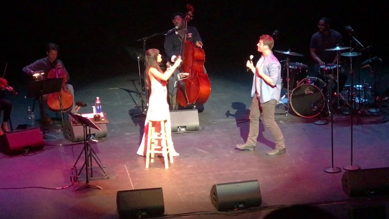 Rolling In The Deep - Lea Michele and Jonathan Groff (Places Tour - Philadelphia)