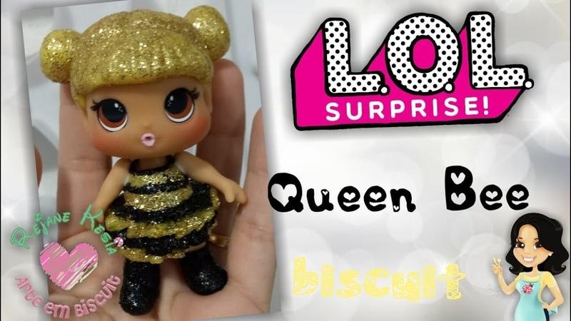 Diy LOL Rara Queen Bee Biscuit Rejane Kesia