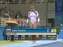 Anna Pavlova (RUS) - 2004 Olympic Games - Vault Event Final