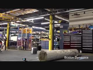 Boston Dynamics показала паркур робота Atlas
