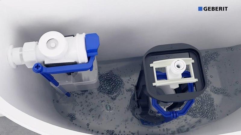 Geberit Type 240 Flushing Valve (2018) - Installation