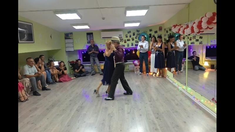Радионовы Владимир и Марина/Милонга. День рождение школы танцев Avenida