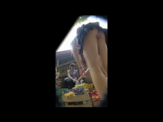 Tight schoolgirl bending upskirt  | candid , под юбкой , школьница