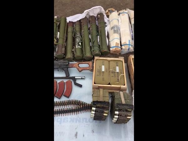 На Луганщині СБУ блокувала канал постачання військових засобів ураження із району проведення ООС