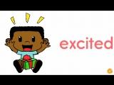 Learn Emotions! _ Adjectives _ Kids _ ESL _ EFL _ ELF Learning