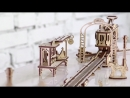 Модель Трамвайная линия это первая модель из новой серии Механический город