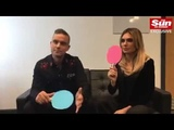 Robbie Williams and Ayda interview 2018 october