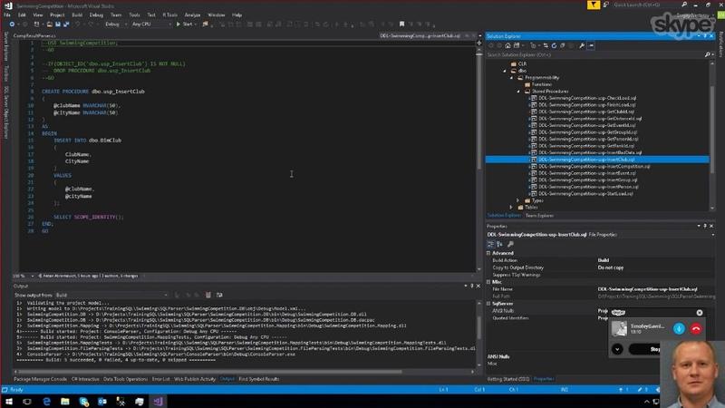 07. Ревью приложения-парсера (C MS SQL)