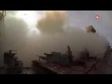 «Форт» и «Оса» наносят удар: кадры ракетных стрельб с крейсера «Варяг»