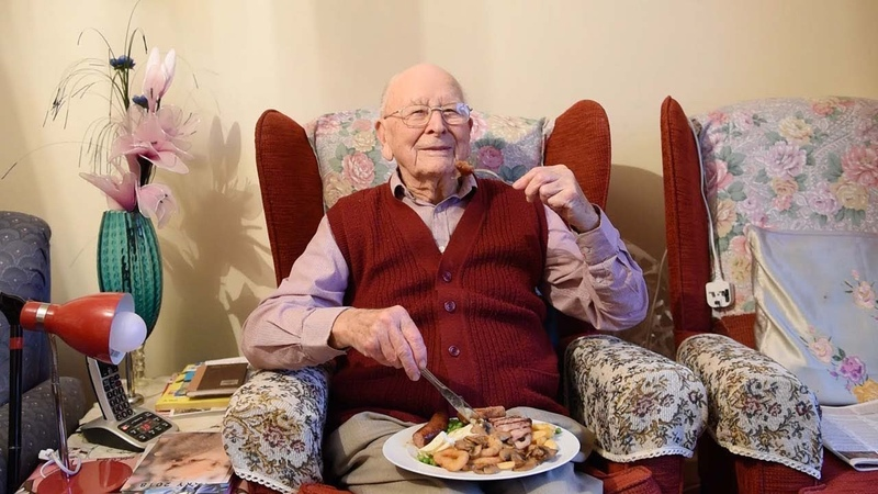 Centenarian Claims Eating Mixed Grills Daily Is Key To A Long Life