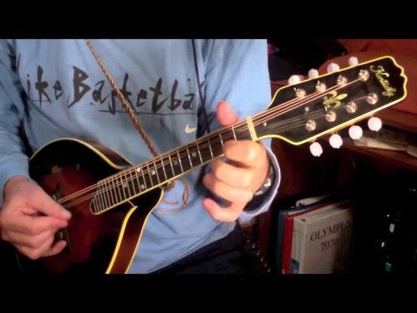 Fire On The Mountain / bluegrass mandolin