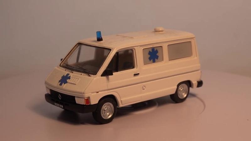 Trafic I Phase I Fourgon Т800 essenсе Ambulance 1980 г