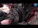 Форд Транзит 2 2л Замена подшипника передней ступицы