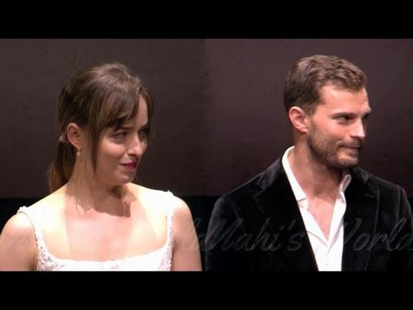Dakota Johnson And Jamie Dornan Moments At Fifty Shades Freed Premiere