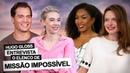 Missão Impossível: Gloss entrevista elenco e encara 'maratona' por selfie com Tom Cruise assista!