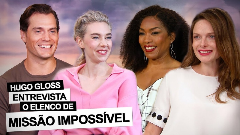 Missão Impossível Gloss entrevista elenco e encara maratona por selfie com Tom Cruise assista!