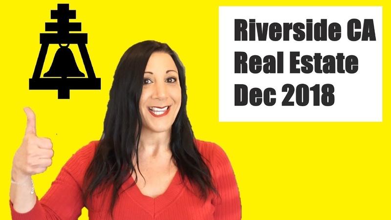 Riverside CA Real Estate Market December 2018