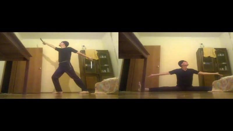 Танец-Двух Мечей, Two-Swords Dances, Видео-Танцы Игоря Петровича, 29(20.11.2018)