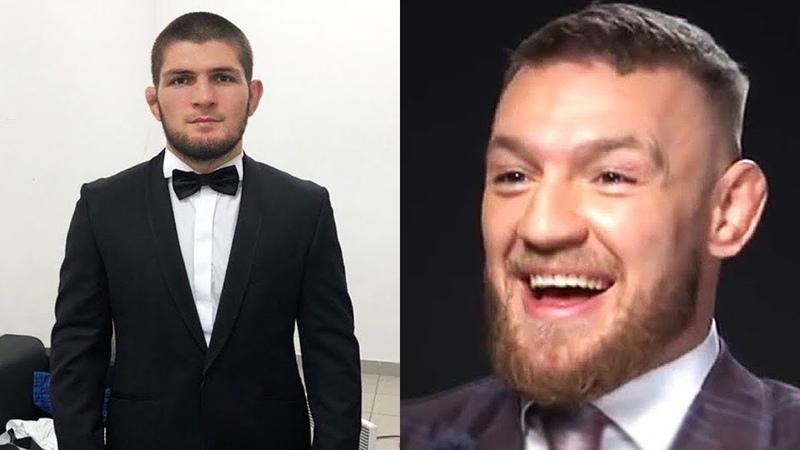 Конор готов к бою против Хабиба / Как пройдет пресс-конференция Хабиба и Конора перед UFC 229